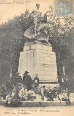 Villeneuve Sur Lot Statue Des Combattants - Villeneuve-sur-Lot
