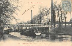 Castelsarrasin Le Canal Et Le Pont De L'Usine - Castelsarrasin