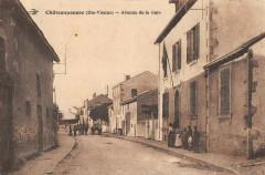Chateauponsac Avenue De La Gare - Châteauponsac