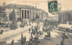 Limoges Place D'Aine Le Marche Aux Fripiers 87 Limoges