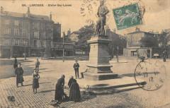 Limoges Statue Gay Lussac 87 Limoges