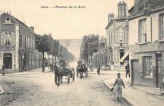 Sens Avenue De La Gare - Sens