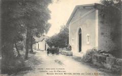 Cabara Pres Saint Emilion Maison Brisson Meyton Entree Des Caves Blancs - Cabara