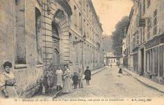 Meaux Rue Et Pont Saint Remy Vue Prise De La Cathedrale - Meaux