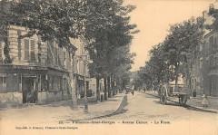 Villeneuve Saint Georges Aveue Carnot La Poste 94 Villeneuve-Saint-Georges