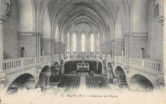 Rians Interieur De L'Eglise - Rians
