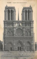 Eglise Notre-Dame de Paris - Paris 4e