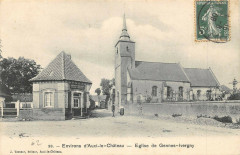 Environs D'Auxi Le Chateau Eglise De Gennes Ivergny - Ivergny