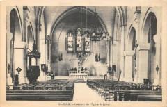 Saint Max Interieur Eglise Saint Livier - Saint-Max