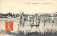 Basse Indre Les Regates Sur La Loire - Indre