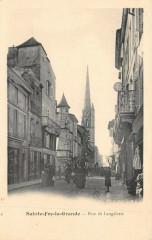 Sainte Foy La Grande Rue De Langalerie - Sainte-Foy-la-Grande