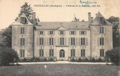 Verteillac Chateau De La Mefrenie Cote Est - Verteillac