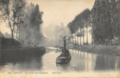 Meaux Le Canal De Chalifert - Meaux