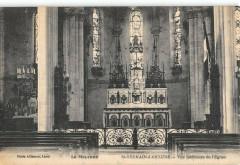 Saint Germain D'Anxure Vue Interieure De L'Eglise - Saint-Germain-d'Anxure