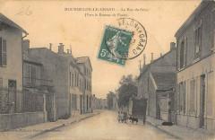 Mourmelon Le Grand La Rue Du Genie - Mourmelon-le-Grand