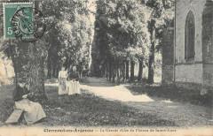 Clermont En Argonne La Grande Allee Du Plateau De Sainte Anne - Clermont-en-Argonne