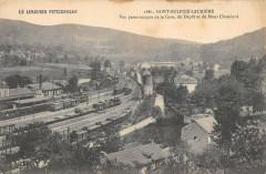Saint Sulpice Lauriere Vue De La Gare Depot - Laurière