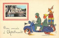 Bien Arrives A Chatellerault - Châtellerault