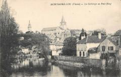 Montmorillon La Gartempe Au Pont Neuf - Montmorillon