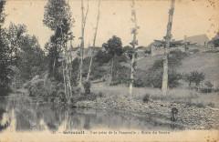 Grimault Vue Prise De La Passerelle Bords Du Serein - Grimault