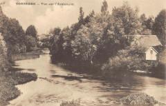 Tonnerre Vue Sur L'Armancon - Tonnerre