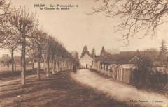 Thury Les Promenades Et Le Chemin De Ronde - Thury