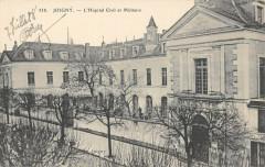 Joigny Hopital Civil Et Militaire - Joigny