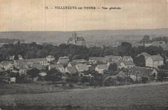 Villeneuve Sur Yonne Vue Generale - Villeneuve-sur-Yonne