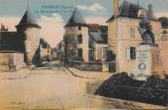 Chablis Le Monument Et Les Tours - Chablis