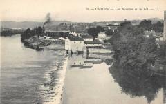 Cahors Les Moulins Et Le Lot - Cahors