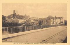 Luzech Pont De La Douve Et La Tour - Luzech