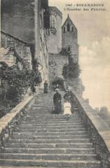 Rocamadour Escalier Des Pelerins - Rocamadour