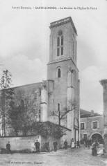Castillonnes Le Clocher De L'Eglise - Castillonnès