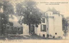 Chateau De Saint Quentin Pres Castillonnes - Castillonnès
