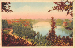 Casseneuil Vue Panoramique Sur Le Lot - Casseneuil