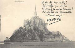 Le Mont Saint Michel Vue Prise Au Sud Ouest - Le Mont-Saint-Michel
