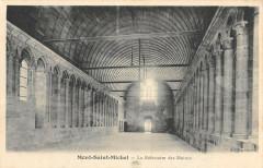 Le Mont Saint Michel Le Refectoire Des Moines - Le Mont-Saint-Michel
