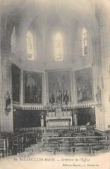 Balaruc Les Bains Interieur Eglise - Balaruc-les-Bains
