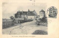 Chateau De Langlare Pres Gannat Allier - Gannat