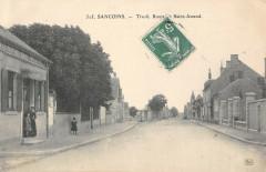 Sancoins Tivoli Route De Saint Amand Cafe Du Tivoli - Sancoins