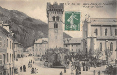 Saint Jeoire En Faucigny Place De L'Eglise - Faucigny