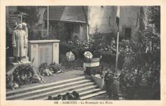 Samoens Le Monument Aux Morts - Samoëns