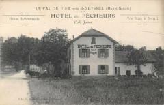 Le Val De Fier Pres De Seyssel Hotel Des Pecheurs Cafe Janin - Seyssel