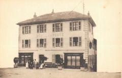 Frangy Hotel De La Poste Madame J.bosson (cliché rare - Frangy