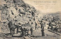 Barrage de Teillet - Carrière - Teillet-Argenty
