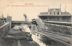 Gare Ouest-Ceinture prise de la Rue de Vanves 75 Paris 14e