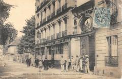 Villa Adrienne et Bureau de Postes avenue d'Orleans - Paris 14e