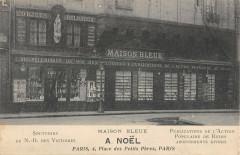 Paris IIe Place Des Petits Peres Maison Bleue A.noel Objets Religieux - Paris 2e