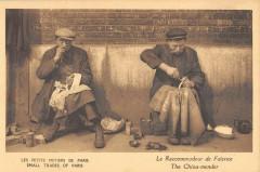 Les Petits Métiers de Paris - Le Raccommodeur de Faïence 75 Paris