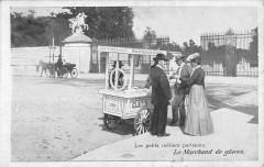 Les petits métiers parisiens - Le Marchand de glaces - Paris 1er